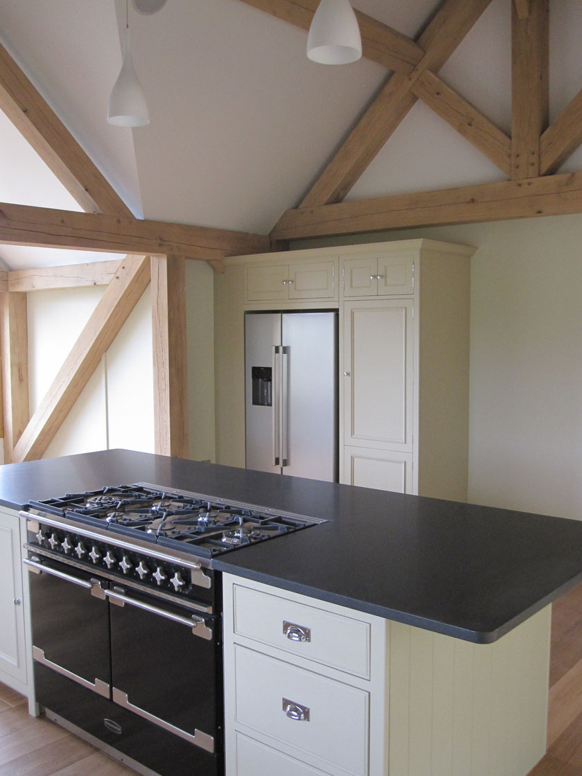 Neptune Chichester Kitchen in Oak Framed House