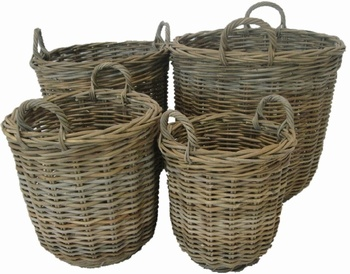 Glenweave Rattan Basket - Small Baytree Interiors > Baskets