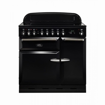 AGA Masterchef XL 90cm Induction Colour: Gloss Black AGA > Masterchef XL