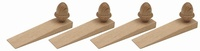 Acorn Style Solid Oak Door Wedge