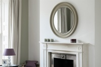 Buckingham White Mirror - 100cm