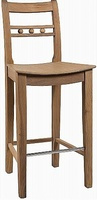 Suffolk Seasoned Oak Bar Stool
