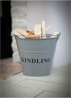 Kindling Bucket - Flint